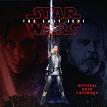 Star Wars: Episode 8 The Last Jedi Official 2018 Calendar - Square Wall Format (Calendar 2018)
