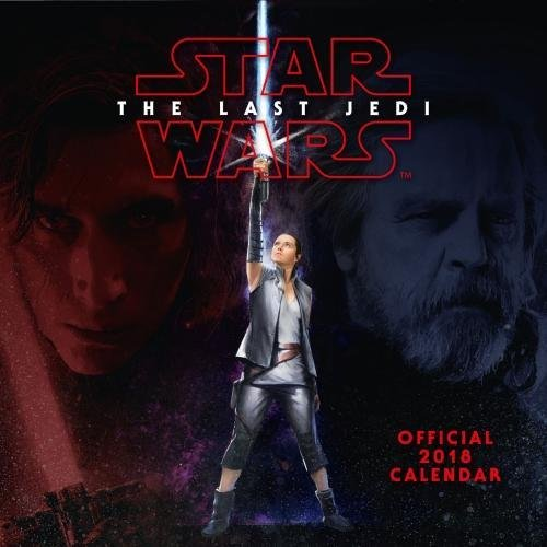 Preisvergleich Produktbild Star Wars: Episode 8 The Last Jedi Official 2018 Calendar - Square Wall Format (Calendar 2018)