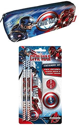 captain-america-pre-filled-moulded-pencil-case-with-ruler-pencils-eraser-sharpener