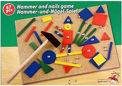 Marionnette Wooden Toys - - - 89165 - Jouet de Premier Age - Jeu de Clous et Marteau x67 | Conception Moderne  fb5730