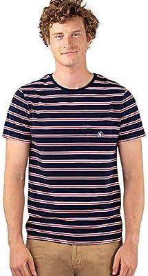 El Ganso Casual 1 Camiseta, Azul (arino 0020), XX-arge para Hombre