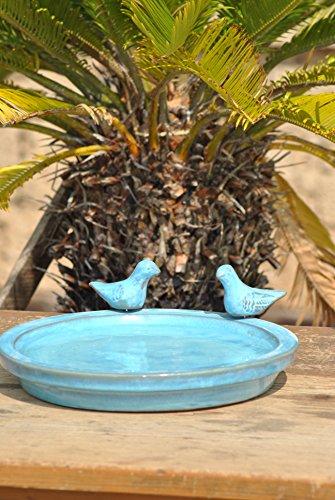 Vogeltränke mit zwei kleinen Vögelchen - 2