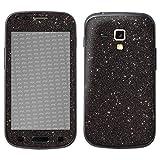 atFolix Samsung Galaxy S Duos 2 Skin FX-Glitter-Black-Sky Designfolie Sticker - Reflektierende Glitzerfolie