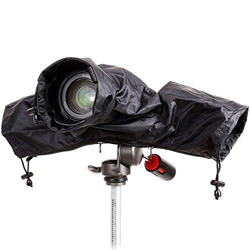sserdicht Regen beständig, mit Objektiv Displayschutzfolie Regendicht für Canon Nikon Sony DSLR-Kameras ()