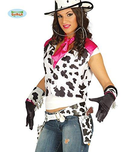 Preisvergleich Produktbild Kuh Holster mit zwei Pistolen für Cowgirls