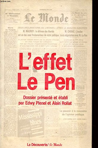 L'Effet Le Pen
