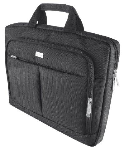 Trust Sydney Slim Schlanke Tasche für Notebook bis 40,6 cm (16 Zoll) schwarz