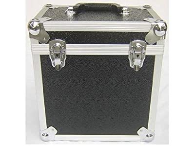 Black 12 Inch Vinyl Record LP Dj Storage Case