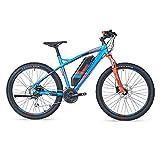 Unbekannt Zündapp Green S100 E-Bike MTB 27,5 Zoll | 36 V | Blau | Mountainbike | Unisex | Rahmenhöhe ca. 50 cm | 250W Hinterradmotor | 24-Gang Kettenschaltung | Elektrofahrrad