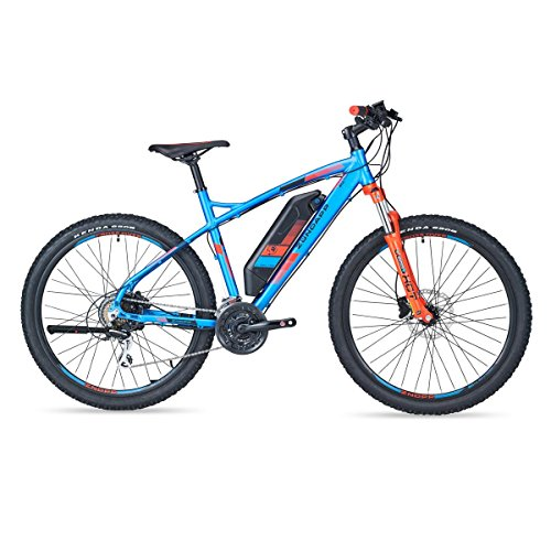 Unbekannt Zündapp Green S100 E-Bike MTB 27,5 Zoll   36 V   blau   Mountainbike   Unisex   Rahmenhöhe ca. 50 cm   250W Hinterradmotor   24-Gang Kettenschaltung   Elektrofahrrad