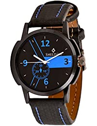 Sheldon Black Dial Analog Watch For Men Sh-1050
