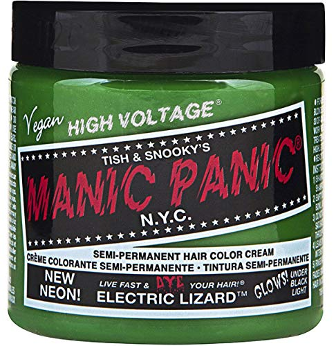 Manic Panic High Voltage Classic Cream Formula Colour Hair Dye (Electric Lizard)