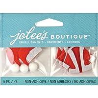 Di Jolee Boutique stagionale abbellimenti-Santa cappelli e
