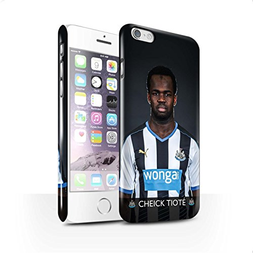 Offiziell Newcastle United FC Hülle / Glanz Snap-On Case für Apple iPhone 6 / Pack 25pcs Muster / NUFC Fussballspieler 15/16 Kollektion Tioté
