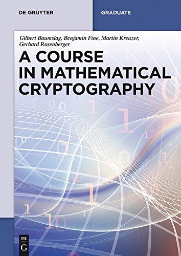 A Course in Mathematical Cryptography (De Gruyter Textbook) (English Edition)