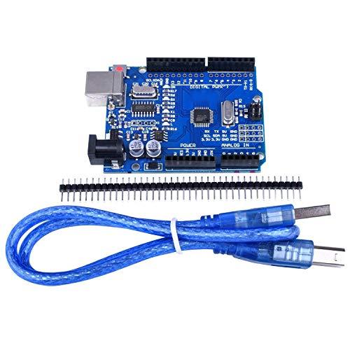 Quimat UNOR3 ATmega328P CH340 Arduino + Cable USB