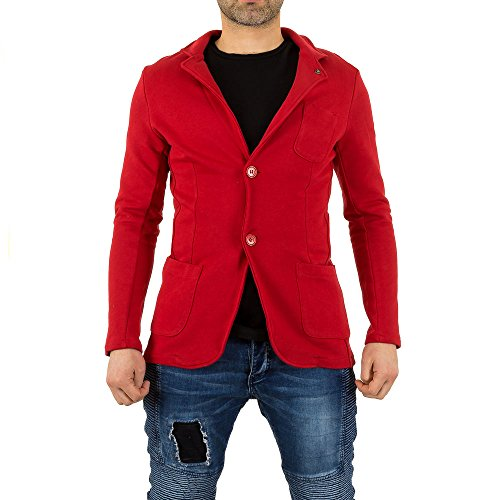 Uniplay Blazer Jacke Für Herren bei Ital-Design Rot