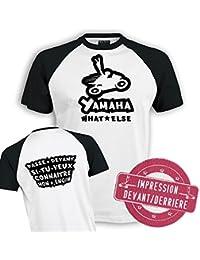 Planète motard - Tee shirt moto Yamaha - T shirt motard - T shirt moto - T shirt homme