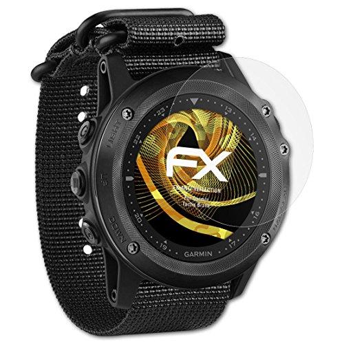 atFoliX Panzerfolie kompatibel mit Garmin Tactix Bravo Schutzfolie, entspiegelnde & stoßdämpfende FX Folie (3X)