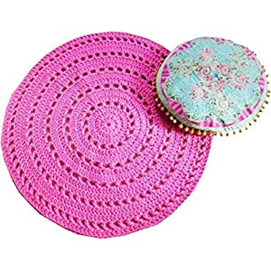 BOHO/IBIZA Mandala Teppich * Häkel Mandala Teppich * 75 cm * handmade