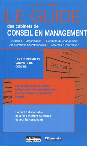 Le guide des cabinets de conseil en management par Jean-Baptiste Hugot, Emmanuelle Leneuf