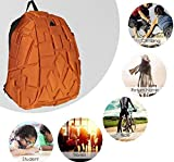 LEATHEROM BIAOWANG Backpack Waterproof with AUX Cable, Headphone Jack, 45 LTR with 6