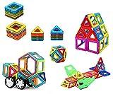 ❀ Brigamo 59556 - Magnetische Bausteine, Magnetbausatz, Magnetspiel für Kinder ❀