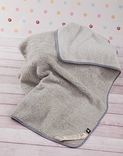 Merino Wool Manta Pure Lana New Zealand 160x 200cm