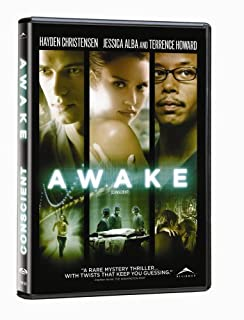 Awake (2008) DVD by Hayden Christensen