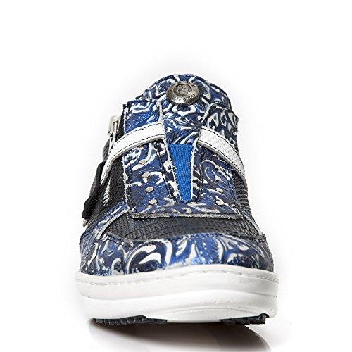 New Rock Hybrid Blau Schuhe M.HY031-S1 Blue