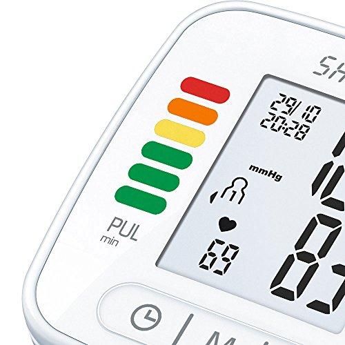 Sanitas SBC 22 Handgelenk-Blutdruckmessgerät (vollautomatische Blutdruck- und Pulsmessung, Warnfunktion bei möglichen Herzrhythmusstörungen) - 4