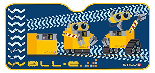 Image of Disney 26045 Wall-E Windscreen Sun-Guard, 130 x 60cm