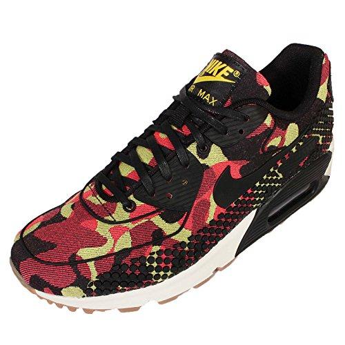 "Nike WMNS Air Max 90 Jacquard ""Black Noble"" (807298-700) BRIGHT CTRN/BLACK-NBL PRPL-BRIGHT"
