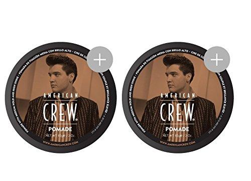 American Crew Pomade (Doppelpack 2x 85gr.)