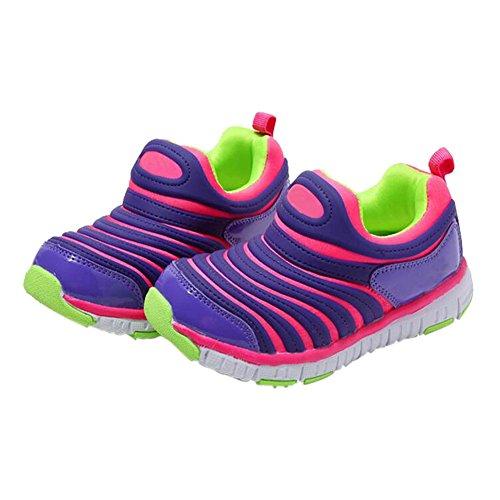 Zhuhaixmy Fashion Kinder Casual Sport Laufen Breathable Kleinkind Elastizität Turnschuhe Pink