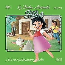 Le Più Belle Canzoncine & Fiabe Cd Audio + DVD di Heidi Idea Regalo per bambini e Per Feste di compleanno