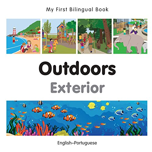 My First Bilingual Book–Outdoors (English–Portuguese) (Portuguese Edition) por Milet Publishing