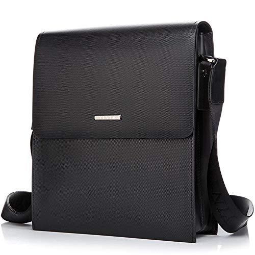 Handtasche, Umhängetasche, Umhängetasche,Hot Men's Messenger Bag Men Business Single Shoulder Bag Hard Briefcase Brand Crossbody Bag Portfolio - Business Portfolio Briefcase