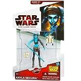Aayla Secura CW40 Star Wars Clone Wars Action Figure