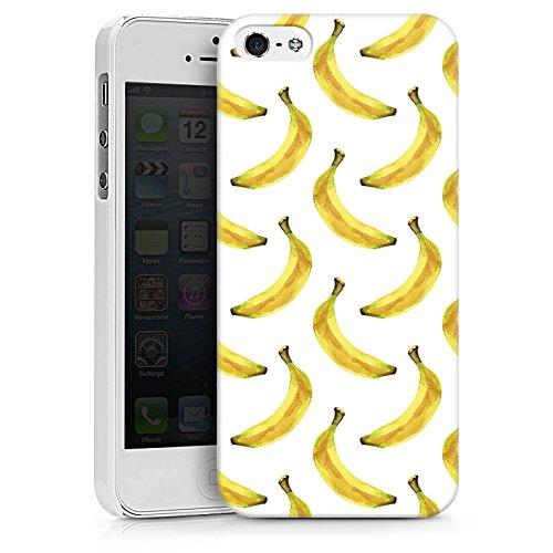 Apple iPhone X Silikon Hülle Case Schutzhülle Bananen Sommer Früchte Hard Case weiß