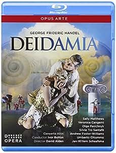 Handel: Deidamia (De Nedelandse Opera) (Sally Matthews/ Veronica Cangemi/ Olga Pasichnyk/ Concerto Köln/ Ivor Bolton/ David Alden) (Opus Arte: OABD7110D) [Blu-ray] [2012] [Region Free]