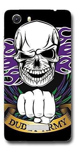 SEI HEI KI Designer Back Cover For Micromax Canvas Unite 3 Q372 - Multicolor