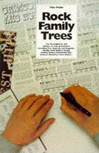 The: 2v.in 1v Complete Rock Family Trees por Pete Frame