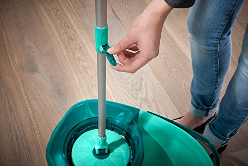 Leifheit 7110-Set Clean Twist Disc mop, Compuesto, Multicolores, 47x31x30 cm