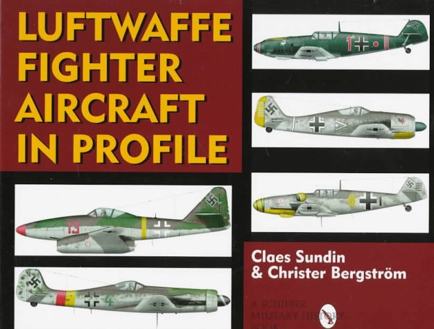 Luftwaffe Fighter Aircraft in Profile (Military) por Claes Sundin