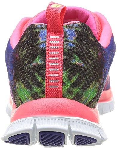 Skechers Flex AppealTrade Winds Damen Sneakers Rot (Crl)