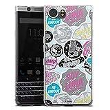 DeinDesign BlackBerry KeyOne Silikon Hülle Case Schutzhülle Soy Luna Muster Disney