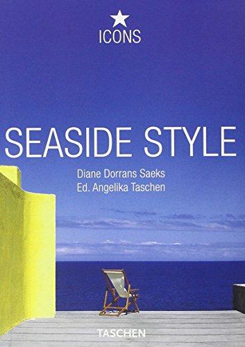 Portada del libro Seaside style. Ediz. italiana, spagnola e portoghese (Icons 25)