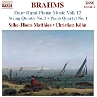 Brahms: Four-Hand Piano Music, Vol. 12