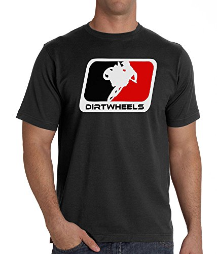 Motocross T-Shirt MX Fashion T Shirt Design - DW Logo - DirtGear Clothing (3XL) (Color Tattoo Metal)